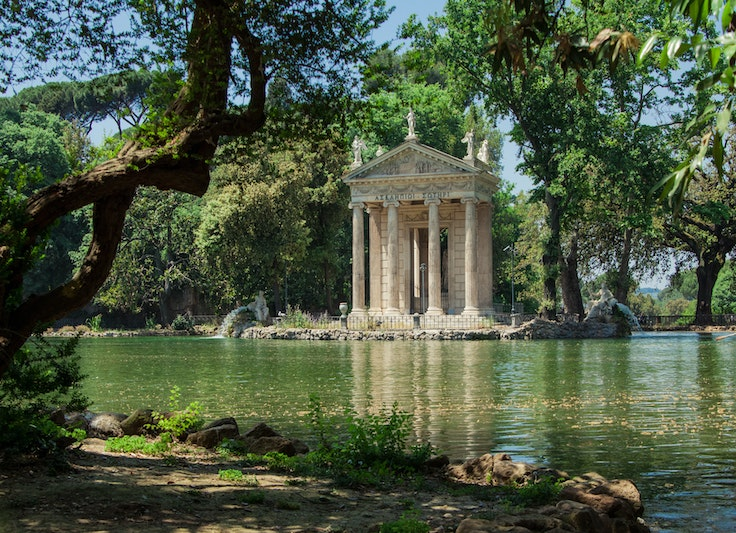 Villa Borghese is one of the spaces that will get a revamp.