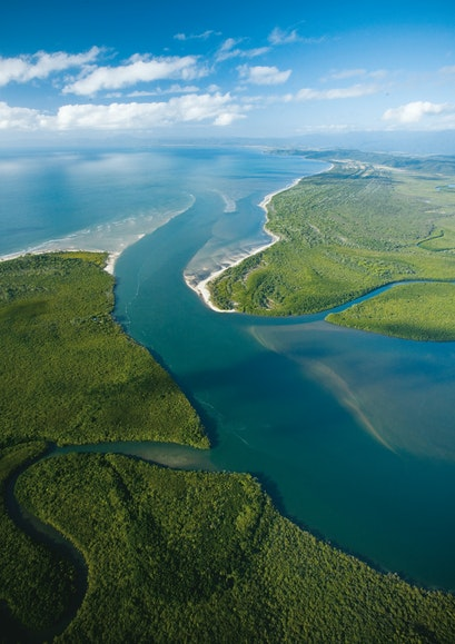 The Daintree rain forest meets the ocean—and another UNESCO-protected site