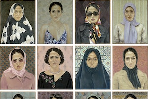 The Women Who Are Rocking Iran's Art World—For Now