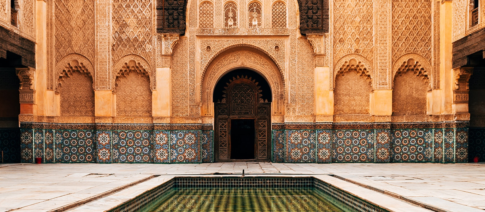 To get to the heart (and colors and scents and sounds) of Marrakech, wander the market square, gardens, and medina.