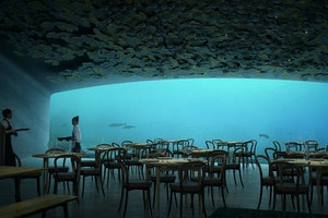 Coming Soon: Europe's First Underwater Restaurant