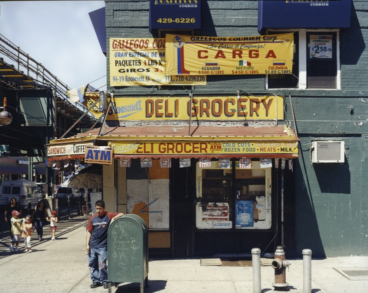 Roosevelt Deli Grocery, 95th Street and Roosevelt Avenue, Jackson Heights, Queens, June 2004