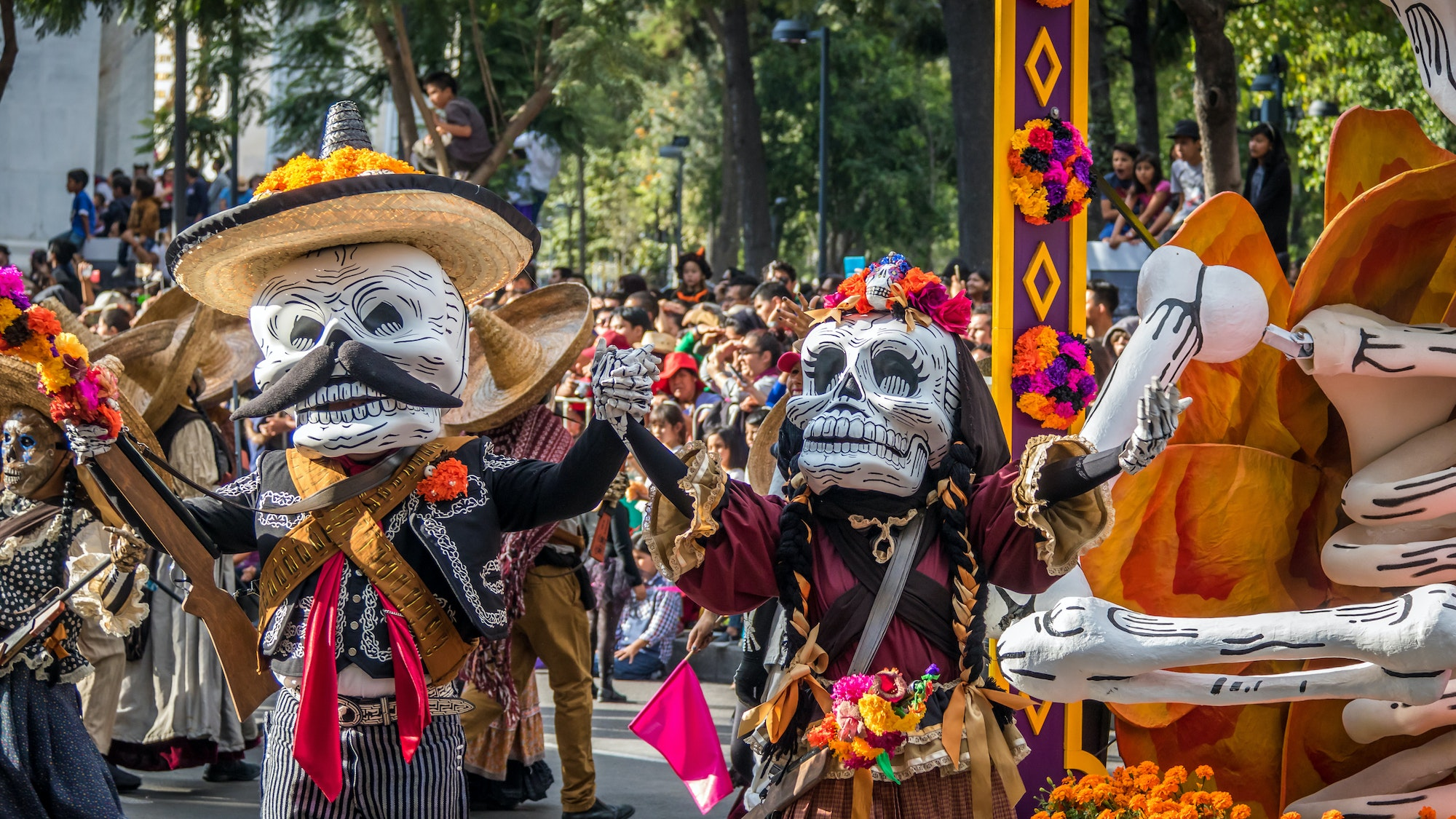 Where To Celebrate Day Of The Dead In The United States Afar