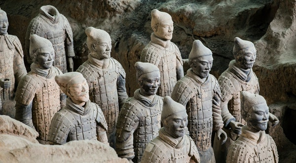 New Terracotta Warriors Discovered at Ancient Site in China