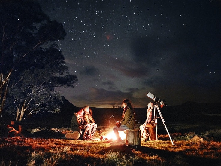 There's a big world out there and having kids needn't prevent you from stargazing.