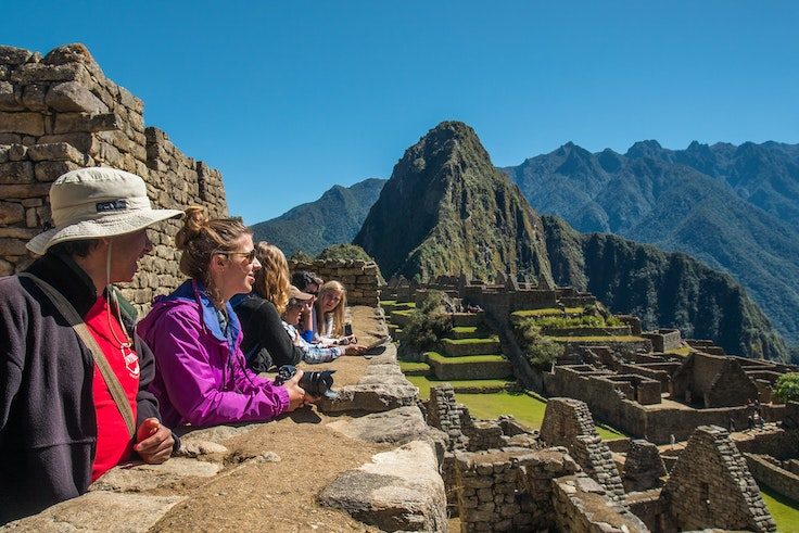 An Intrepid Travel tour of Machu Picchu
