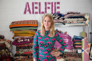Life Artists: Why Aelfie Oudghiri Is Drawn to Rug Design