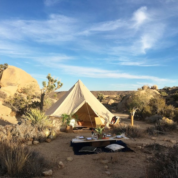 the best places to go glamping right now afar. Black Bedroom Furniture Sets. Home Design Ideas