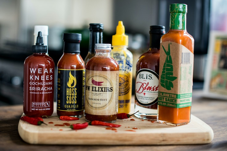Hot sauces add a kick to almost anything.
