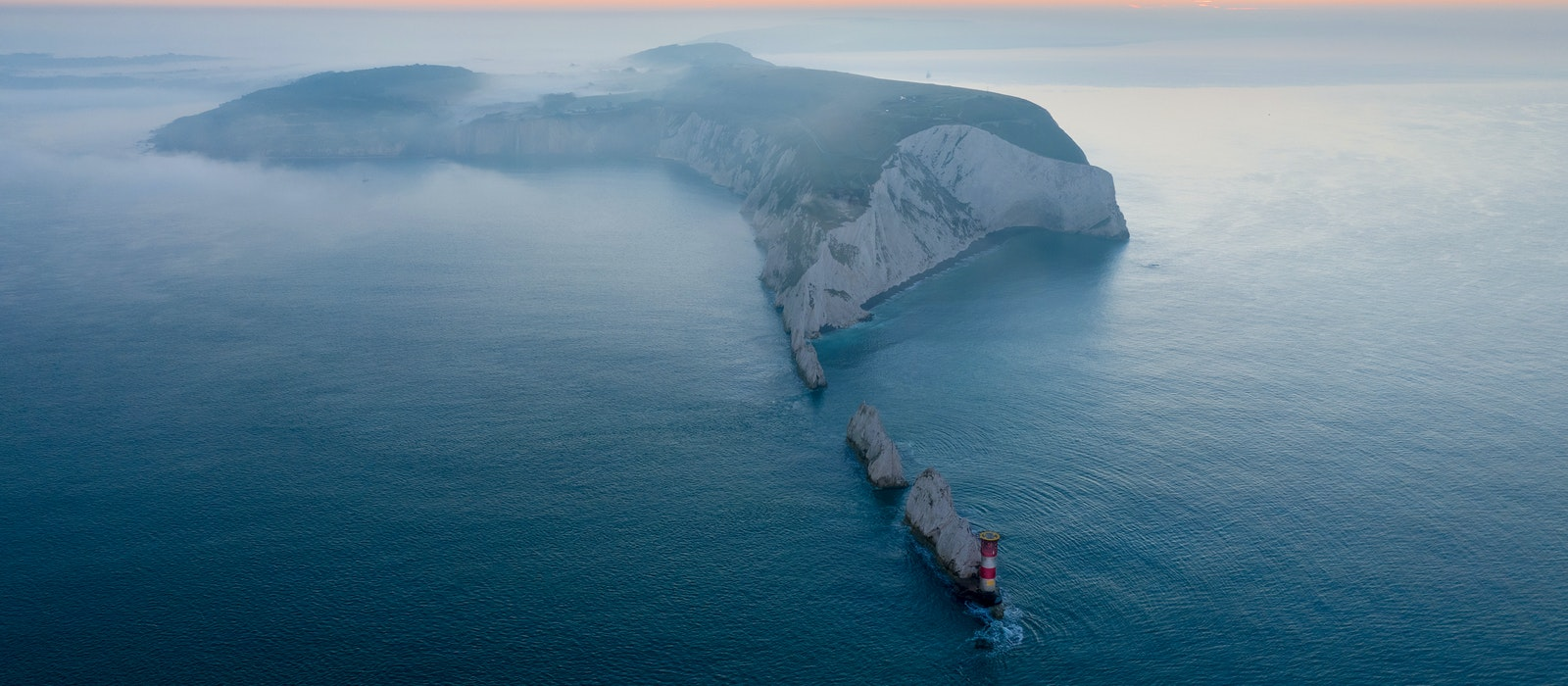 Now a UNESCO-designated Biosphere Reserve: the Isle of Wight and its dramatic chalk coastline