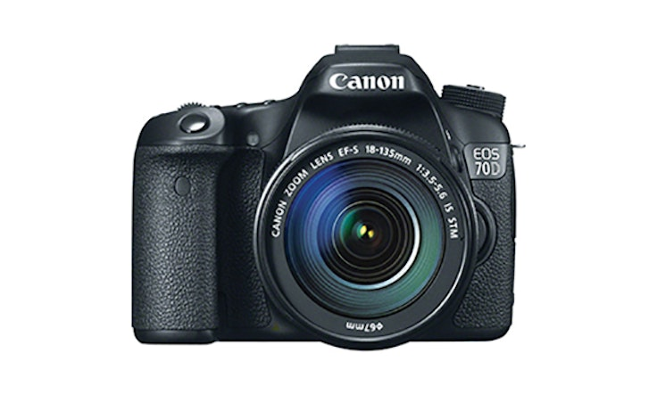 Canon EOS 70D Kit with Lens