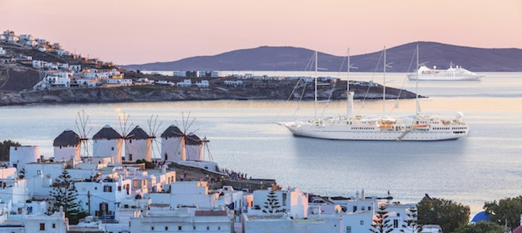 Windstar sailing the Greek isles.