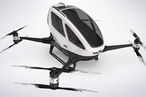 Passenger Drones to Double as Taxis in Dubai