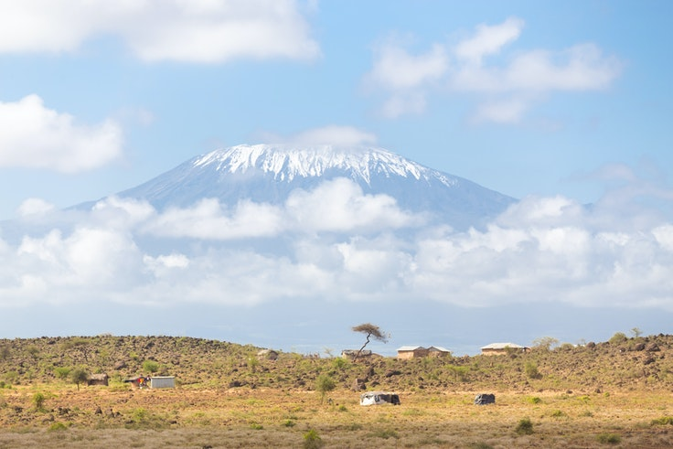 From Nairobi, it's just a one-hour flight onward to Mount Kilimanjaro, Africa's tallest peak.