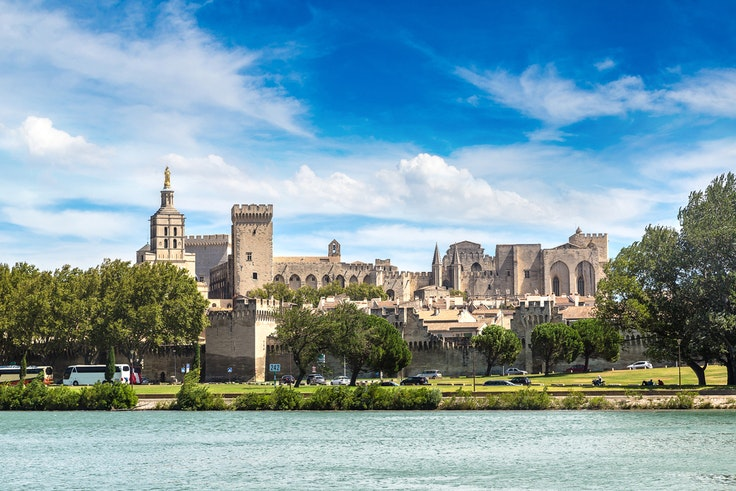 The Popes' Palace in Avignon is a UNESCO World Heritage site and one of many reasons to visit Provence in the fall.
