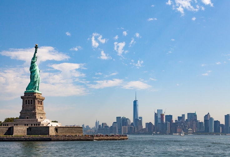 An estimated 4.5 million visit the Statue of Liberty National Monument and Ellis Island (Ellis Island National Immigration Museum) annually.