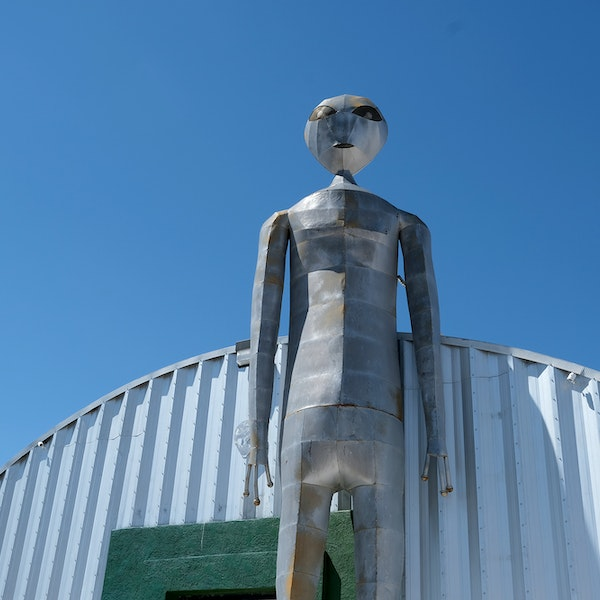 What It's Like to Visit Area 51 With Airbnb