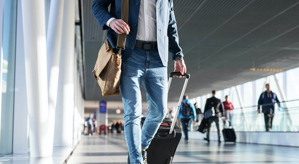 Why You Should Be Using a Two-Wheeled Suitcase, According to a Flight Attendant
