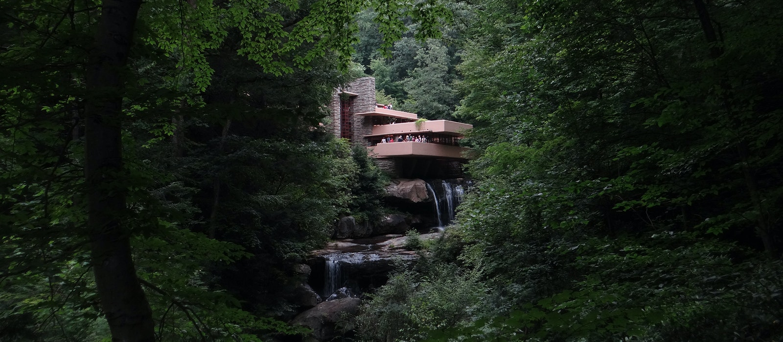 Frank Lloyd Wright's iconic Fallingwater home is one of his eight buildings that received a UNESCO designation.