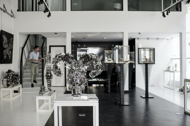 M.A.D., a home for kinetic art run by watchmaker Maximilian Büsser, is one of the many new noteworthy galleries in Dubai.