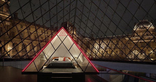 Airbnb Is Hosting a Slumber Party at the Louvre—Here's How to Win