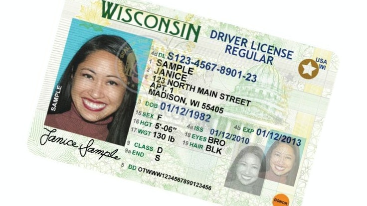 For most states, the REAL ID–compliant driver's license will have a gold or black star in the upper right corner.