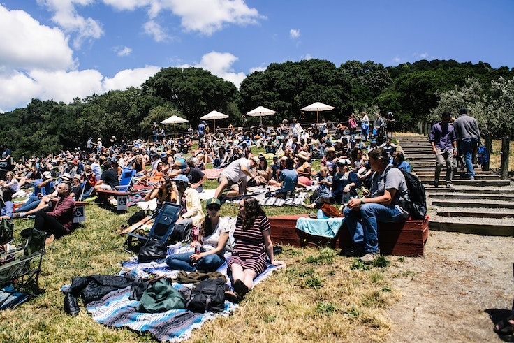At Huichica Sonoma, a micro-festival in California's wine country, you can enjoy indie rock music and excellent rosé in a crowd of just 800.