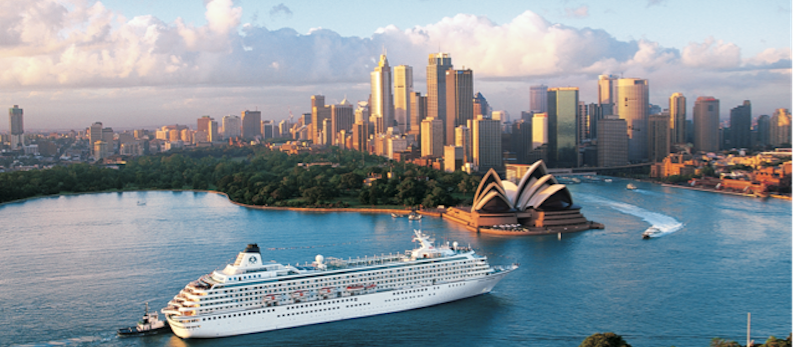 The Crystal Symphony in Sydney.
