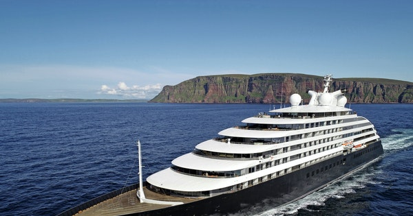 A First Look at the World's Most Luxurious Expedition Ship