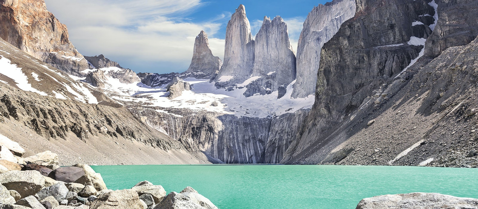 The Route of Parks will pass through Chile's famed Torres del Paine National Park.