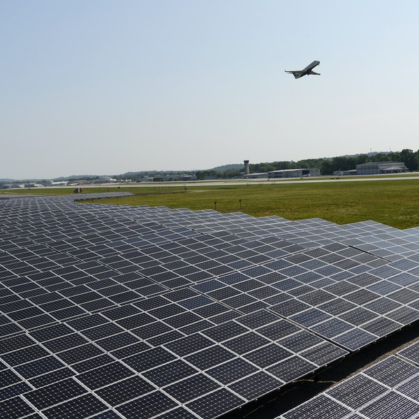 This Is the First U.S. Airport to Be Fully Solar-Powered