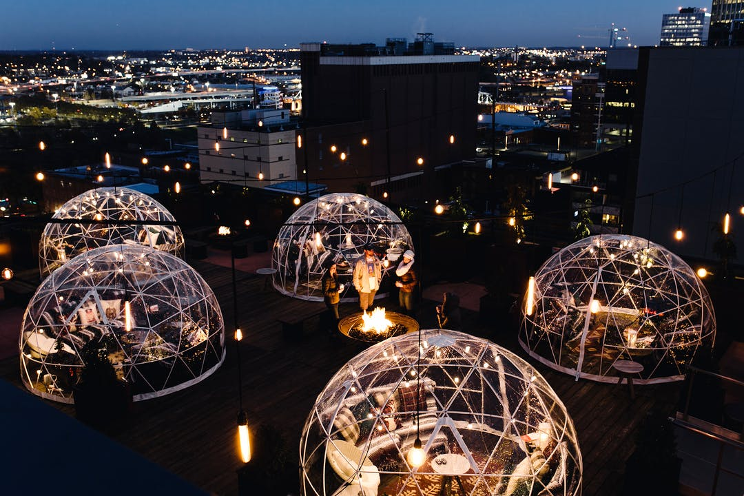 7 Rooftop Bars For The Winter Season