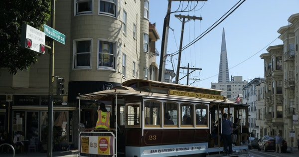 San Francisco's Cable Cars to Shut Down Temporarily for Repairs