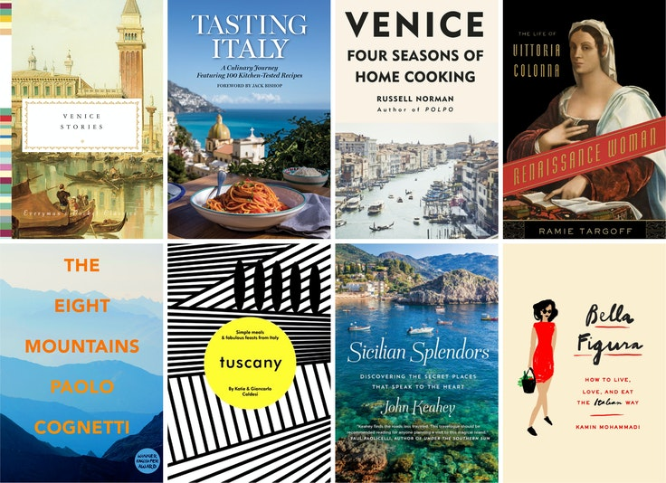 A selection of new titles to tide you over until your next Italian trip
