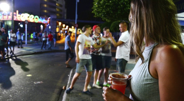 New Laws in Balearic Islands Crack Down on Binge-Drinking Tourists