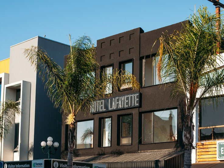 Tijuana's newest boutique hoteltips its hat to the city's past.