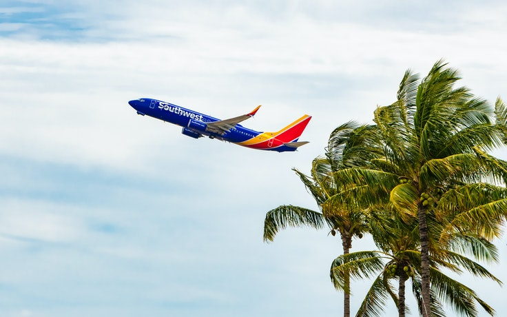 Southwest began flying to Hawaii in March 2019.