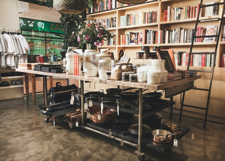 Los Angeles–based Now Serving provides cookbooks, cooking supplies, and a culinary community.