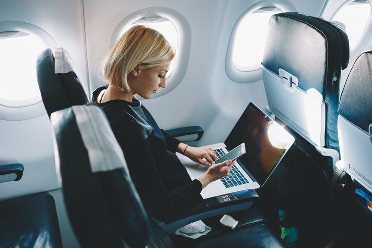 It could soon be a lot less costly to stay connected on Delta flights.