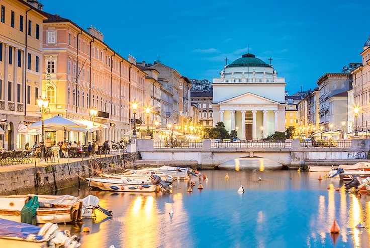 Trieste, located in northeastern Italy, is a portside city with stunning architecture and top-tier coffee.