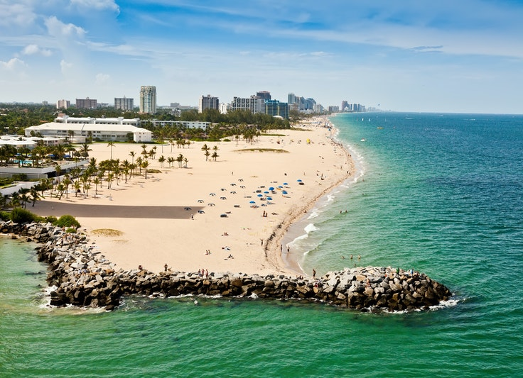 Fort Lauderdale is one of the many destinations available in the fare sales this week.