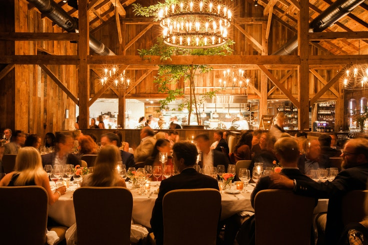 The Barn at Blackberry Farm in Tennessee's Great Smoky Mountains boasts the region's best sustainable menu.