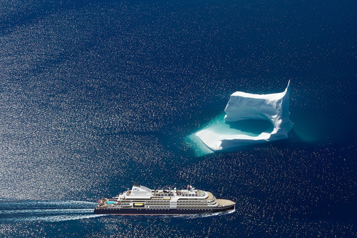 """The """"SeaDream Innovation"""" launches in 2021 and will sail an 88-day itinerary from Antarctica to the Arctic Circle."""
