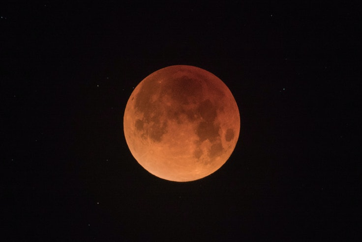 A total lunar eclipse is also called a blood moon.