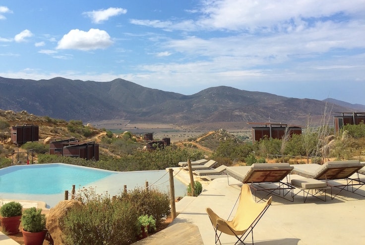 The view at Encuentro Guadalupe