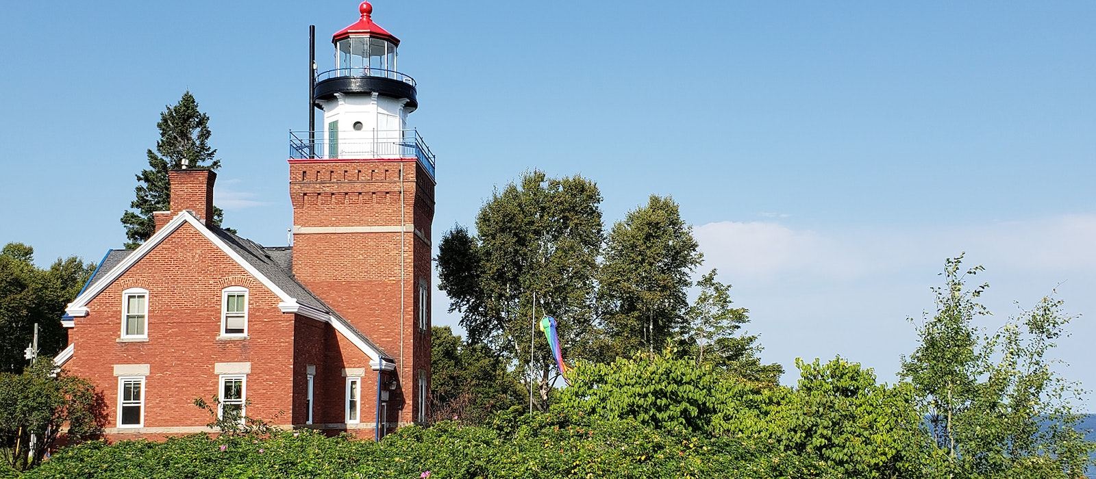 Some U.S. lighthouses take on volunteer lightkeepers; others, like the Big Bay Point Lighthouse in Michigan, operate as bed-and-breakfasts.