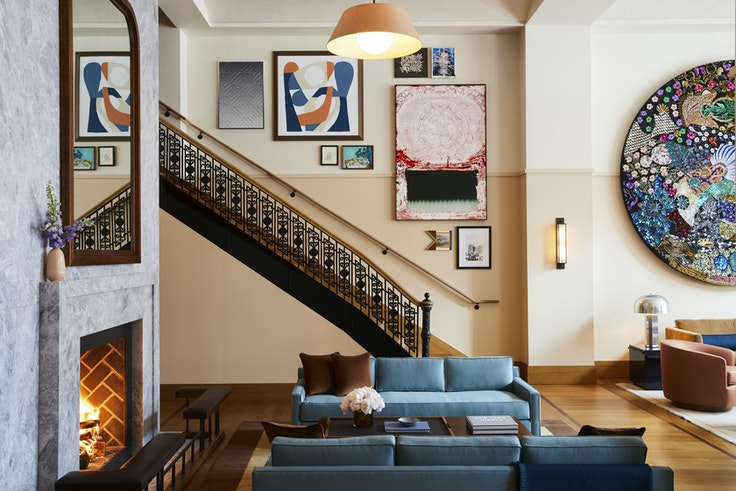 The Shinola Hotel in Detroit opens its doors on January 2, 2019.