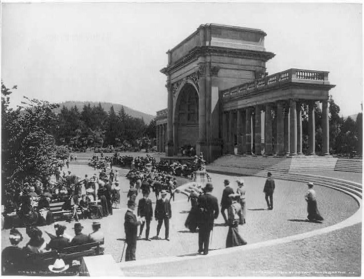 An afternoon in Golden Gate Park in 1903