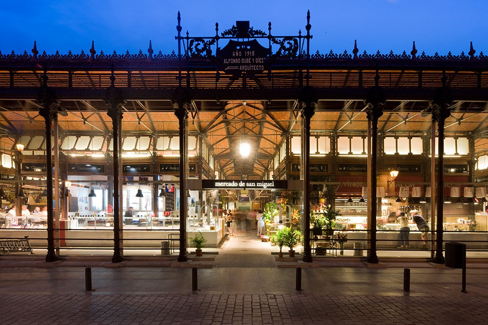 The 5 Best Gourmet Markets in Madrid