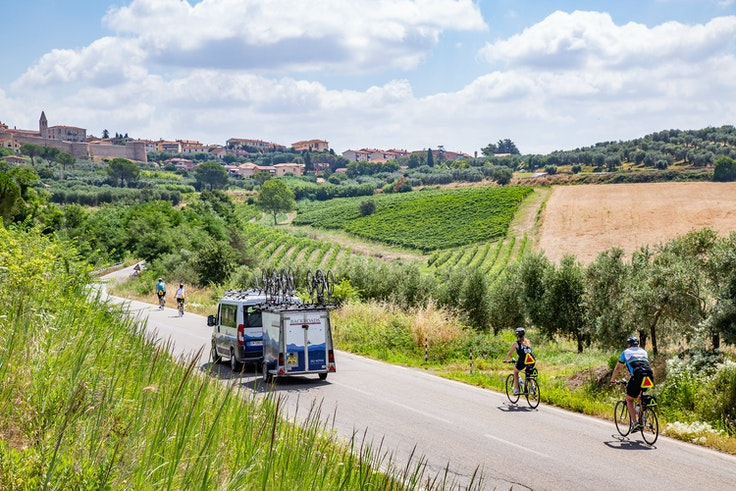 Skip the planning and logistics on your next bike trip and book with a company like Backroads instead.